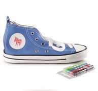 Cartoleria Astuccio Sneaker Blu Donkey