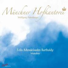 Mottetti - CD Audio di Felix Mendelssohn-Bartholdy