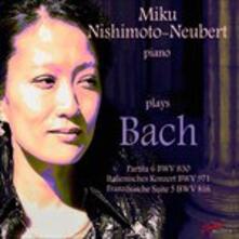 Nishimoto - Neubert Plays B - CD Audio di Johann Sebastian Bach