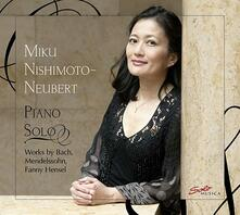 Piano Solo - CD Audio di Johann Sebastian Bach