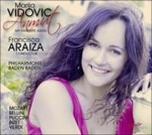 Arie d'opera - CD Audio di Vincenzo Bellini,Georges Bizet,Wolfgang Amadeus Mozart,Giacomo Puccini,Giuseppe Verdi,Marija Vidovic