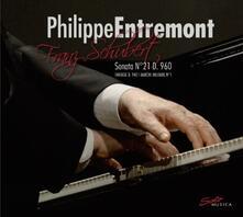 Sonata per Pianoforte n.21 D960 - Fantasia D940 - Marcia militare D733 n.1 - CD Audio di Franz Schubert,Philippe Entremont