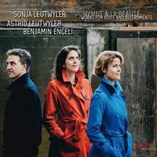 Hymne à la realité. Liriche per voce e strumenti - CD Audio di Sonja Leutwyler