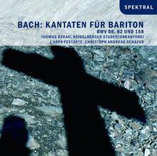 Kantaten Fur Bariton - CD Audio di Johann Sebastian Bach