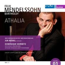 Athalia - CD Audio di Felix Mendelssohn-Bartholdy