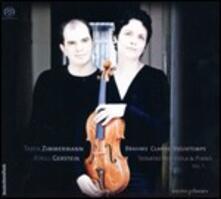Sonate per viola e pianoforte - SuperAudio CD ibrido di Johannes Brahms,Henri Vieuxtemps,Rebecca Clarke,Tabea Zimmermann,Kirill Gerstein