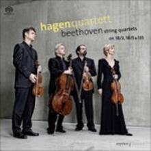 String Quartets No.3, 5 & - SuperAudio CD di Ludwig van Beethoven
