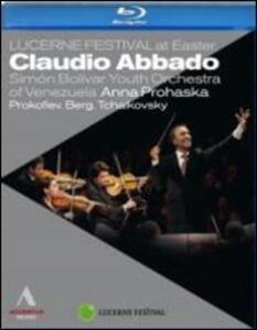 Claudio Abbado Conducts Prokofiev, Berg & Tchaikovsky - Blu-ray