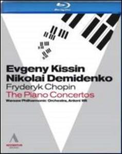 Frédéric François Chopin. The Piano Concertos - Blu-ray