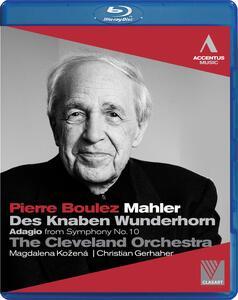 Pierre Boulez. Mahler. Des Knaben Wunderhorn - Blu-ray