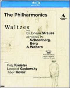 The Philharmonics. Waltzes By Johann Strauss - Blu-ray