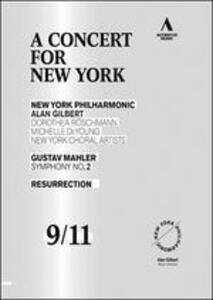 Gustav Mahler: Symphony No.2. A Concert for New York - DVD