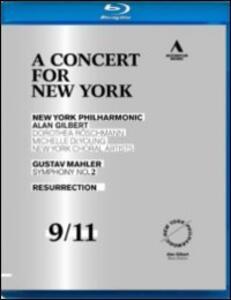 Gustav Mahler: Symphony No.2. A Concert for New York - Blu-ray