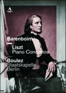 Daniel Barenboim. Liszt, Piano Concertos - DVD