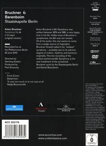 Bruckner. Sinfonia n.6 - DVD - 2