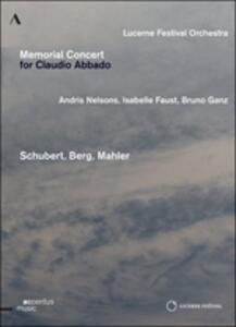 Memorial Concert for Claudio Abbado - DVD