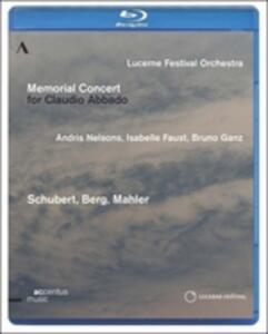 Memorial Concert for Claudio Abbado - Blu-ray