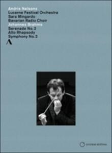 Andris Nelsons conducts Brahms - DVD
