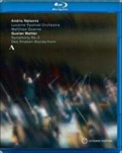 Gustav Mahler. Symphony No. 5. Des Knaben Wunenhorn (selezione) (2 Blu-ray) - Blu-ray