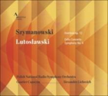 Concerto per violoncello - Sinfonia n.4 - CD Audio di Witold Lutoslawski