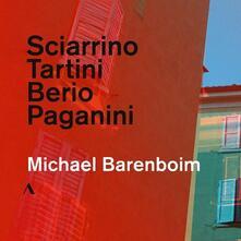 Sei capricci - CD Audio di Luciano Berio,Salvatore Sciarrino,Michael Barenboim