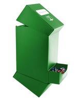 Ultimate Guard DeckNTray Case 100+ Standard Taglia Verde Ultimate Guard