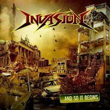 And so it Begins - CD Audio di Invasion