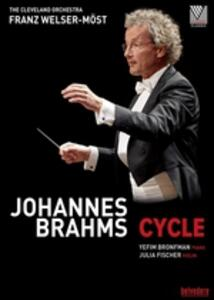 Johannes Brahms. Cycle (3 DVD) - DVD