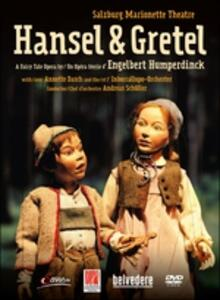 Hengelbert Humperdinck. Hänsel & Gretel. Salzburg Marionetten Theatre - DVD