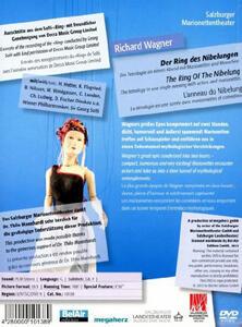 Richard Wagner. Der Ring Des Nibelungen. Salzburger Marionettentheater - DVD - 2