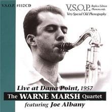 Live At Dana Point 1957 - CD Audio di Warne Marsh