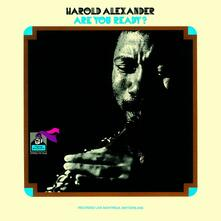 Are You Ready (Limited Edition) - CD Audio di Harold Alexander
