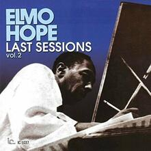 Last Sessions vol.2 (Limited Edition) - CD Audio di Elmo Hope