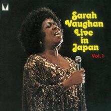 Live in Japan 1 (Limited Edition) - CD Audio di Sarah Vaughan