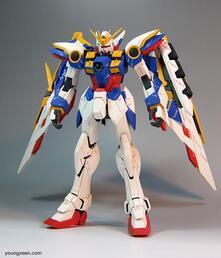 Model Kit Mg Gundam Wing Ver Ka 1/100
