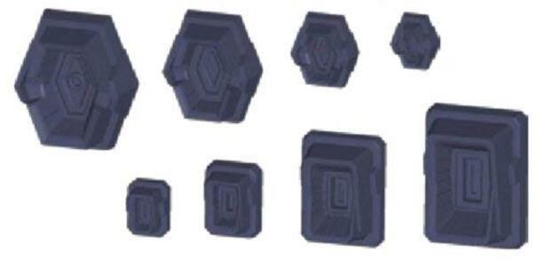 Builders Parts Hd Ms Detail 01 Non-Scale - 2
