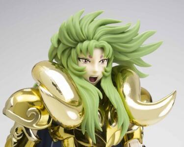 Action Figure Saint Seiya Myth Cloth Ex Aries Shion Holy War Ver, Giappone Import - 18