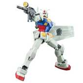 Giocattolo Action figure Gundam. High Grade Universal Century Rx-78-2 Revive 1:144 Bandai Gunpla