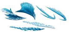 Tamashii Effect Wave Blue Ver