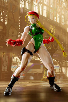 Street Fighter 5 Cammy Figuarts