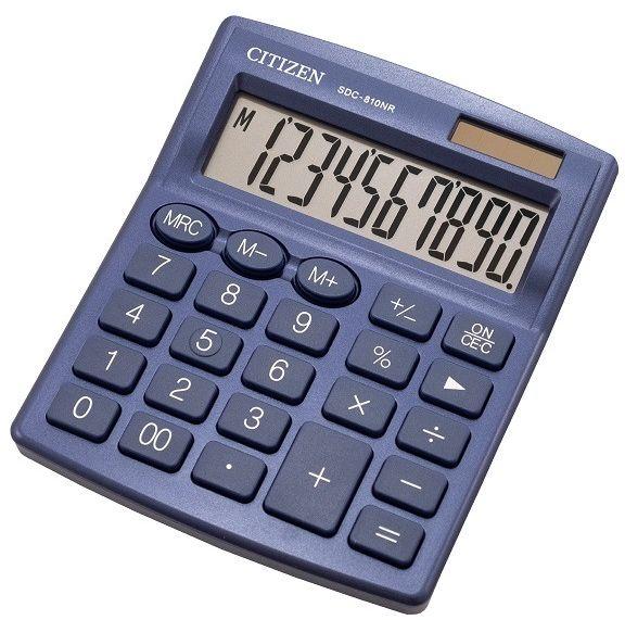 Image of Calcolatrice Citizen SDC-810NR Blu