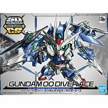 Model Kit Sd Cross Silhouette Gundam 00 Diver Ace