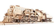 Treno a vapore V-Express con Tender
