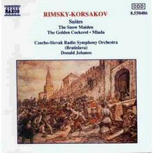 Mlada - La fanciulla di neve - Il gallo d'oro - CD Audio di Nikolai Rimsky-Korsakov