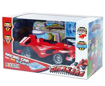 Giocattolo Polistil. The Drakers. Racing Car 1:32 Con Proiettore Polistil
