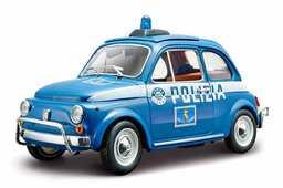 Giocattolo Bburago. Fiat 500 Polizia Bburago