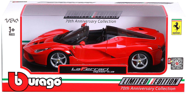 Image of Bburago. Ferrari. Aperta. 1:24