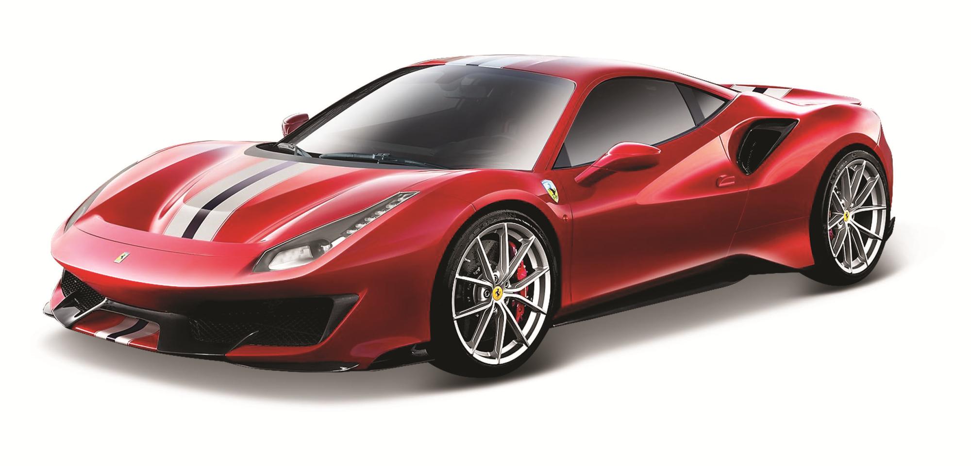 Image of Bburago. Signature Series. Ferrari 488 Pista 1:43