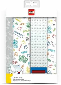 White Lego: Journal With Building Band - 7