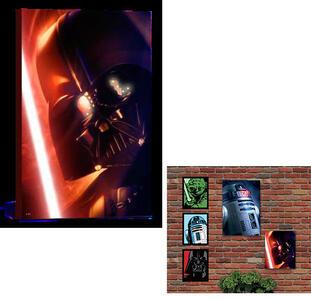 Quadro Luminoso Star Wars - Darth Vader